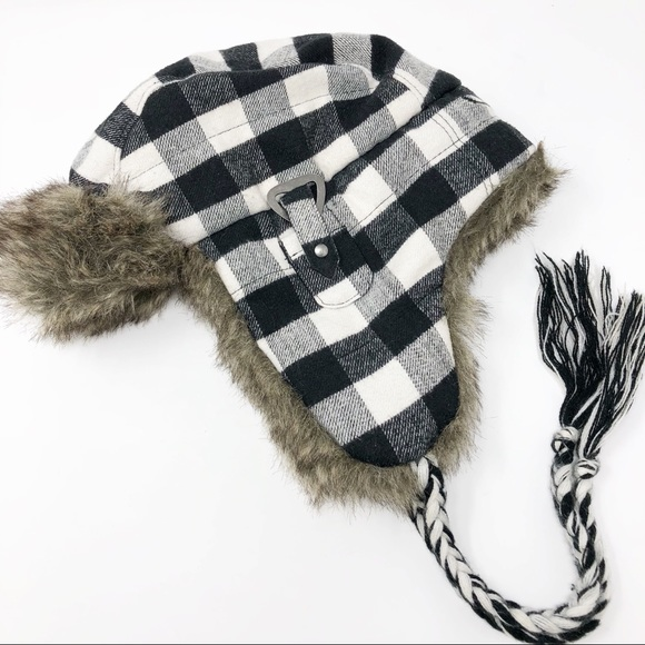 575ec67d222b33 American Eagle Outfitters Accessories - American Eagle | Trapper Hat  Buffalo Plaid Cozy